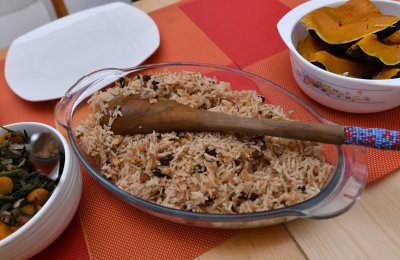 Delicious pilau rice - cooking class